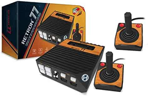 Hyperkin Retron 77 Atari 2600 HD Gaming Console with 2x Atari 2600 Premium Controllers Bundle