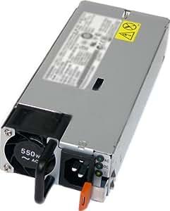 IBM 00D7087 - Fuente de alimentación, conectable en caliente / redundante, 80 Plus Platinum, CA 100-127/200-240 V - 550 vatios