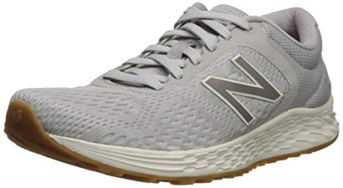 New Balance Women's Arishi V2 Fresh Foam Running Shoe, Overcast/Champagne Metallic/sea Salt, 9 M US