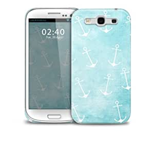 anchor me down pattern vintage Samsung Galaxy S3 GS3 protective phone case