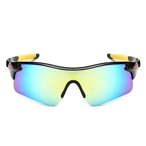 Y-H 2016 Polarized Sports Cycling Large Frame Sunglasses For Running TR90 Frame For Men(C3) (Cycling Glasses Large compare prices)