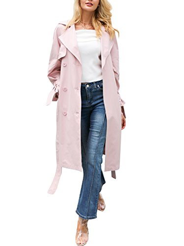 Double Breasted Long Coat - 6