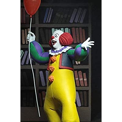 "NECA Toony Terrors - IT – 6"" Scale Action Figure - Stylized Pennywise (1990): Home & Kitchen"