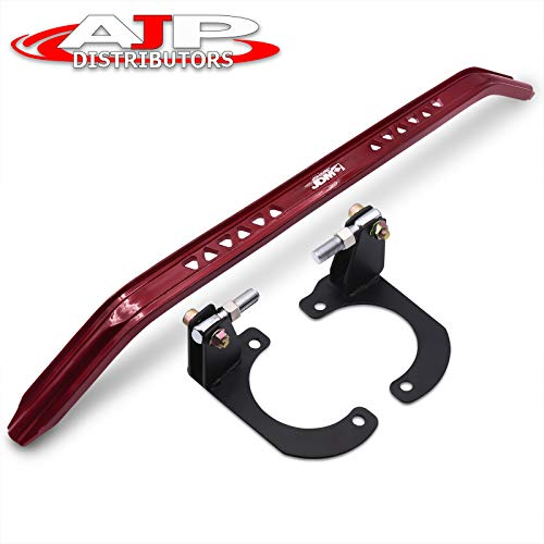 Mazda Miata Na Red Jdm Sport Suspension Front Upper Strut Bar Brace Aluminum Performance Racing Stabilizer Adjustable Tower Handling