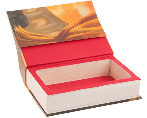 Real Hollow Book Safe - Harry Potter and the Deathly Hallows by J.K. Rowling (Magnetic Closure)