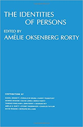 The Identities of Persons (Topics in Philosophy)