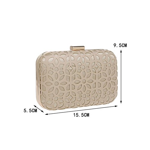 Evening HKC 1 Evening Ladies Bag PU Banquet Fashion Bag Girl Clutch Bag HqwrZPH8x