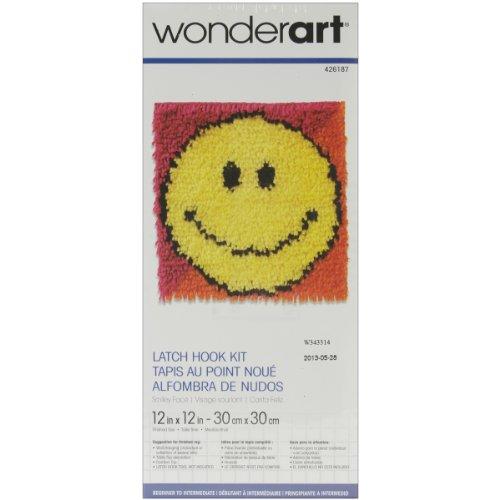 Wonderart Smiley Face Latch Hook