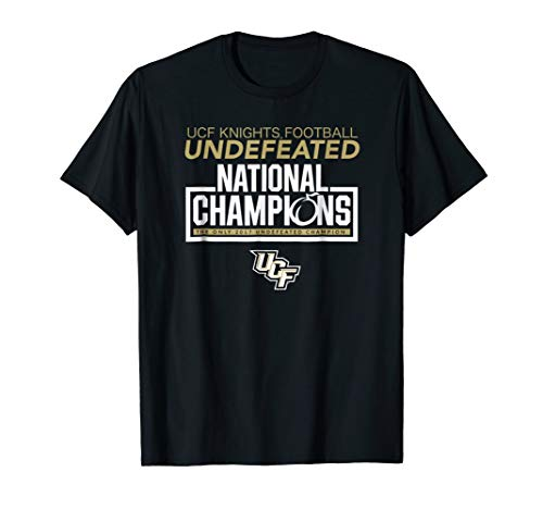 UCF Knights Undefeated National Champions T-Shirt - Apparel