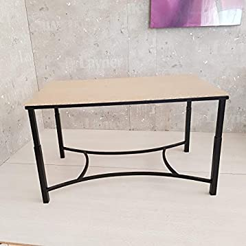 Mesa Camilla Elevable Zahara Forja Negra: Amazon.es: Handmade