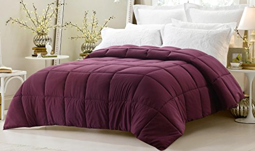 super oversized down alternative comforter fits pillow top beds king 110 x 96 dark. Black Bedroom Furniture Sets. Home Design Ideas