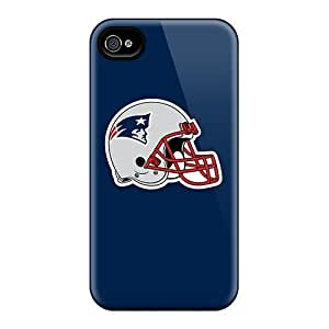 Finleymobile77 Iphone 4/4s Hybrid Cases Covers Bumper New England Patriots 7