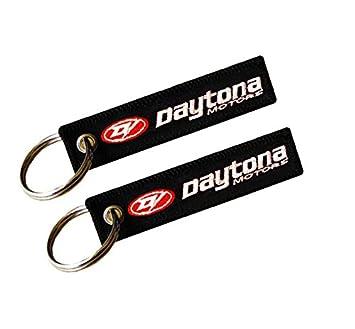 Daytona Llavero Doble Cara (1 Pieza): Amazon.es: Coche y moto