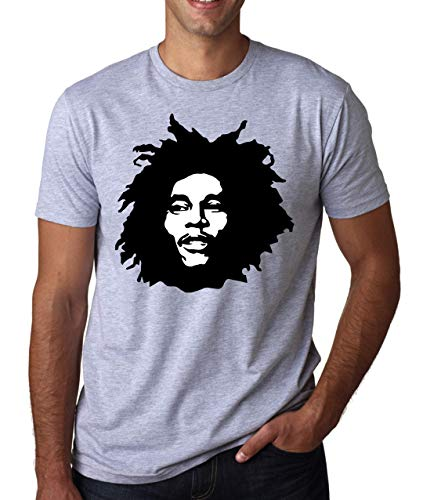 Marley Shutup Gris Bob Hommes T shirt Profile HqSw1