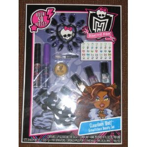 Monster High Clawdeen Wolf Growlicious 50 Pieces Beauty Makeup Nail Set for $<!--$13.99-->