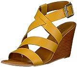 Franco Sarto Women's YARA Wedge Sandal Summer Yellow 7 M US