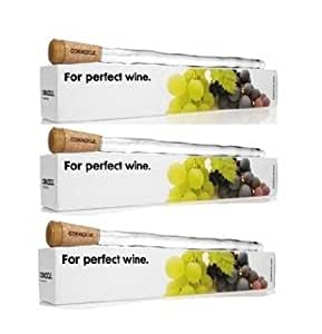 Corkcicle 5060C Wine Chiller 3 Pack -This Multi-Pak comes with 3 individually packaged units ready for gift wrapping