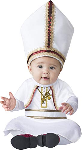 InCharacter Baby Pint Sized Pope Costume Size Large 18 -