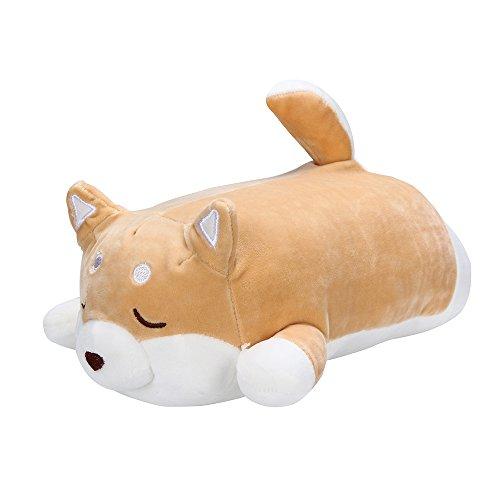Jonerytime Anime Shiba Inu Plush Stuffed Sotf Pillow Doll Cartoon Doggo Cute Shiba Soft Toy (A) ()