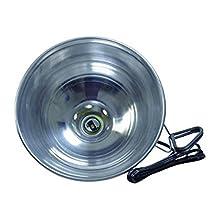 Woods 162 18/2-Gauge SPT-2 Clamp Lamp with 10-Inch Reflector, 150-Watt, 6-Foot Cord