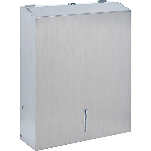 Genuine Joe 02198 Towel Dispenser, Metal, 13-1/2