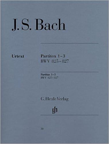 Téléchargements gratuits d'ebooks pour kobo Partitas 1-3 BWV825-827 - Piano iBook