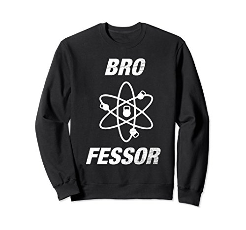 Unisex BroFessor Kettlebell Cross Training Bodybuilding Shirt Large Black (Bro Science Life Halloween)