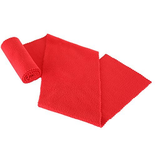 Neewer Piano Keyboard Anti-Dust Cover Key Cover Cloth for Piano Cleaning Care - Suit for Most Piano Brand with 49 x 5.90 inches/125 x 15 centimeters Size, Soft And Durable, Washable(Red)