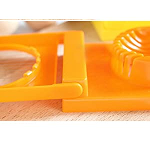 Skuleer£¨TM) 2in1 Cut Multifunction Kitchen Egg Slicer Sectioner Cutter Mold maker Flower Edges