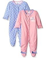 Gerber Baby Boys' 2 Pack Zip Front Sleep...