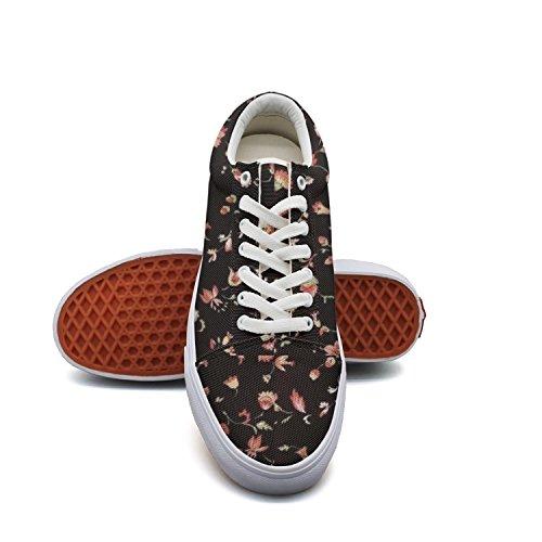 Ouxioaz Womens Skate Shoe Laces Beautifl Floral Flower Skating Shoe by Ouxioaz