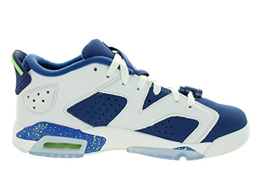 Nike Air Jordan 6 Retro Low BG (GS) Seahawks - 768881-106 -