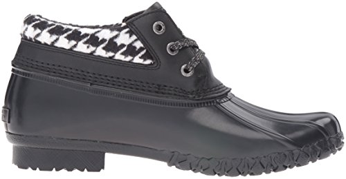 Dorothy amp; Black G Houndstooth H Bass Women's Rain Co Boot EqfTwfCXx