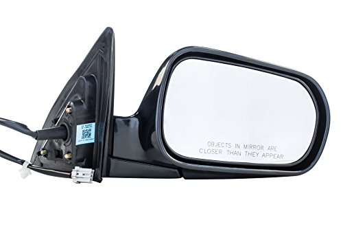 (Dependable Direct Right Passenger Side Unpainted Non-Heated Folding Power Operated Door Mirror for Honda Accord (Sedan Only) (1998 1999 2000 2001 2002) HO1321125)
