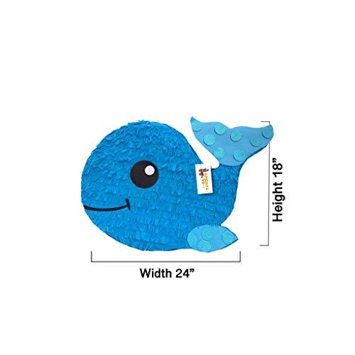 APINATA4U Blue Baby Whale Pinata