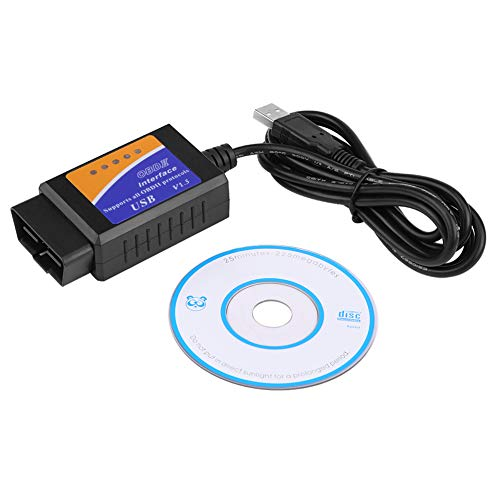 KIMISS Car USB Connector V1.5 OBD2 Diagnostic Cable: Amazon.co.uk: Electronics