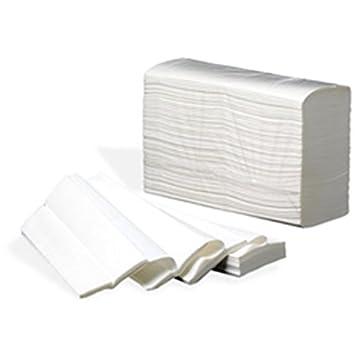 Toallas Papel Secamanos Zig Zag muy resistentes 4000 unidades: Amazon.es: Oficina y papelería