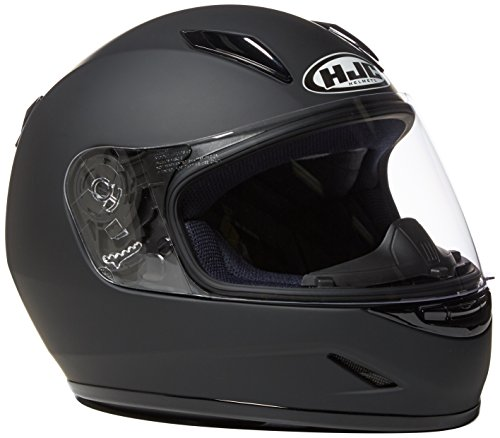 HJC Helmets CL-Y Youth Helmet (Matte Black, Large)