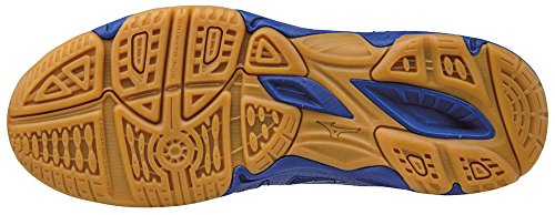 Mizuno Lightning Star Z Jnr, Zapatillas de Voleibol Unisex Niños Blu (Capri/Divapink/Dazzlingblue)