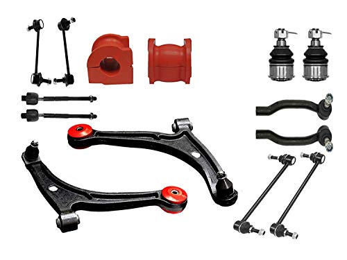 14PC Complete Front Rear Suspension Kit with Control Arm for Acura MDX Honda Pilot Suspension Kit