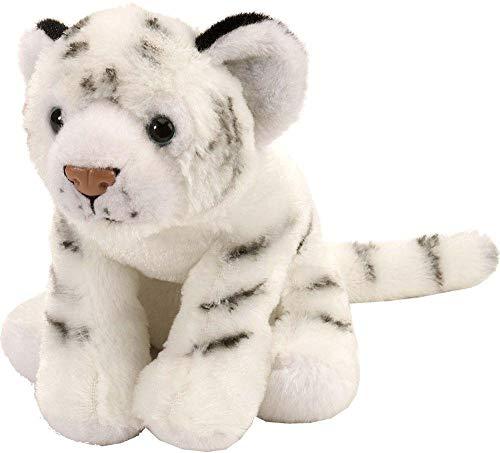 Wild Republic White Tiger Plush, Stuffed Animal, Plush Toy, Gifts for Kids, Cuddlekins 8 Inches ()