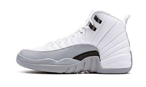 Jordan Air Retro Blanco Mujer Zapatillas Black Baloncesto De 12 Grey Gg Nike Para white wolf qACSgg