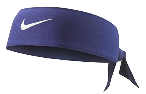(Nike Dri-Fit Head Tie 2.0 Midnight Navy/White Size One Size)