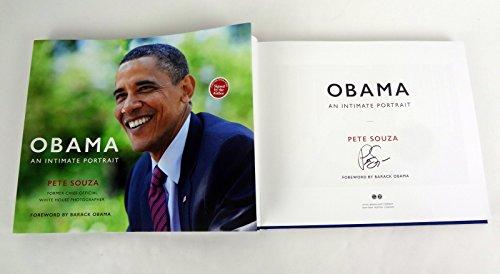 Pete Souza Signed Autograph Obama: An Intimate Portrait 1st Edition Book
