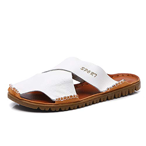 de Zapatillas Teen Thick libre Primavera 2 Color Verano al White Men's Otoño aire Slippers Size Casual Small Summer Code Cool 38 3 vistiendo Bottom Durable Light Brown EU Adecuado playa para rqIq7P