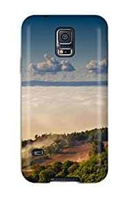 Premium KJroGEL1246hfXov Case With Scratch-resistant/ Landscape Case Cover For Galaxy S5