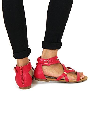 Strappy Sandals- Breckelles