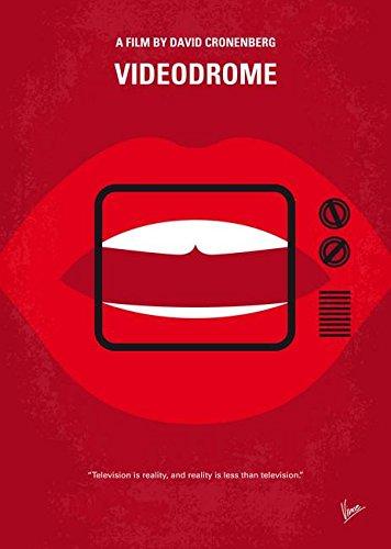 Wall Art Print entitled My Videodrome Minimal Movie Poster by Chungkong