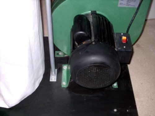 Central Machinery 2 HP Industrial 5 Micron Dust Collector