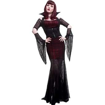 Midnight Vamp Womens Vampire Costume Costume - Large - Dress Size 12-14